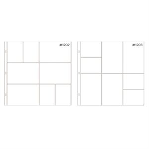 Picture of *50% OFF* Anthology 12 x 12 Mixed Pocket Protectors (20 pack – 2 styles) *SALE* WHILE SUPPLIES LAST